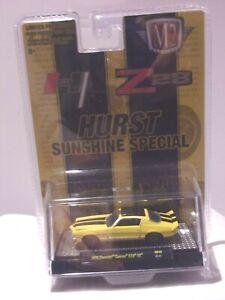 KKar M2/Castline - 1970 Chevrolet Camaro Z/28 - Yellow - Hurst - 1 of 6,050