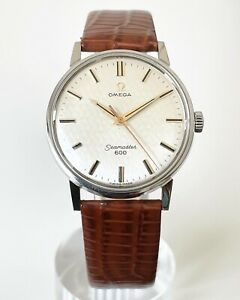 1966 OMEGA SEAMASTER 600 FISH SCALE DIAL & ORIGINAL PAPERS CAL. 601 REF. 135.011