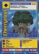 DIGIMON DIGI-BATTLE SERIES 2 CARD LOT - Bo-92 CHERRYMON + 9 RANDOM COMMON CARDS