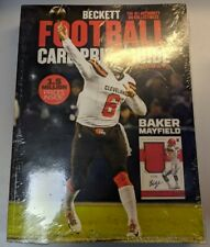 2019 2020 Beckett Football Card Annual Value Price Guide ~ 36th Edition ~ New!