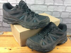 SALOMON MENS UK 10 EU 44 2/3 RHOSSILI GORE-TEX BLACK WALKING SHOES RRP £130 EP