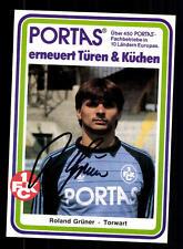 Roland VERDE AUTOGRAFO carta 1. FC Kaiserslautern ORIGINALE FIRMATO + a 156078