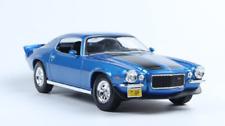 Maisto 1:18 1971 Chevrolet Camaro Diecast Model Sport Racing Car NEW IN BOX Blue