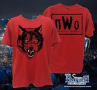 nWo Red Wolfpack New World Order Wolfpac Mens T-shirt WRESTLING SHIRT TEE