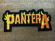 PANTERA EMBROIDERED PATCH IRON ON or SEW Cowboys from Hell Heavy metal Music