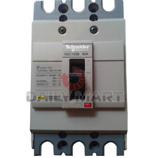 New Schneider Electric NSC100B3080 Molded Case Circuit Breaker Rate Current 80A