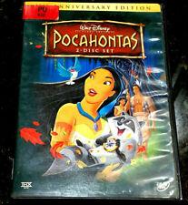 Disney POCAHONTAS (DVD, 2005, 2-Disc Set) 10th Anniversary Edition
