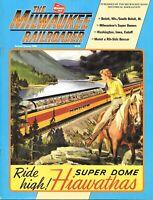 Milwaukee Railroader #2 2000 Super Dome Hiawathas Beloit Wisconsin Iowa Cutoff
