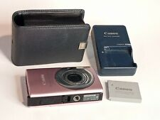 Canon PowerShot Digital ELPH SD1100 IS Digital Camera Pink With Case