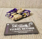 Transformers Generations - Titans Return Voyager Class: Hazard & Blitzwing