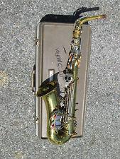 Vintage 1960s Buescher USA  Alto Sax Saxophone ! NEEDS PADS/REHAB Good Potential