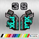 ADESIVI FORCELLA fox 38 factory MTB STICKERS BIKE STAMPATI SFONDO TRASPARENTE