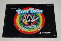 Tiny Toon Adventures Cartoon Workshop Nintendo NES Video Game Manual Only
