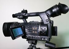Panasonic AG-AC 160 FULL HD Camcorder - Schwarz + Zubehörpaket