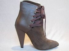 NEW NWB THE LACE UP KANSAS ANKLE BOOT by IRO BROWN LEATHER/SUEDE SZ 36 MSRP $800