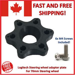 Logitech G25 G27 G29 G920 G923 Steering Wheel adapter plate For 70mm Wheel