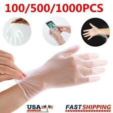 1005001000 Pcs Pvc Vinyl Gloves Clear Latex Amp Powder Free Examination Gloves