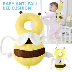 Anti-fall Baby Pillow Cartoon Pillow Head Protection Soft PP Cotton Toddler