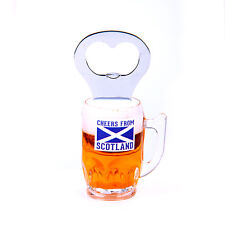 Scottish Scotland Beer Pint Bottleopener Fridge Kitchen Home Magnet