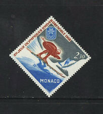 MONACO 1967 MNH SC.672 Olympic Games Grenoble
