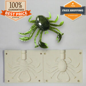 Rockin Crab Bait Mold Soft Plastic DIY Lure 38-64 mm