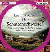 LUCINDA RILEY-DIE SCHATTENSCHWESTER (DIE SIEBEN SCHWESTERN BAND 3) 2 MP3 CD NEW