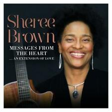 SHEREE BROWN Messages From The Heart NEW & SEALED SOUL CD (EXPANSION) MODERN R&B