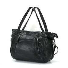 Leder Groß Damentasche Handtasche Shopper Bag Schultertasche Tragetasche.