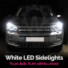 For Land Rover Freelander 1 2 1998-2014 White LED Sidelight Light Bulbs *SALE*