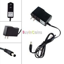 AC 100-240V DC 9V 1A Wall Charger Power Supply Adapter 5.5 x 2.1MM DBUS