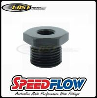 "Speedflow M16x1.5 Male Metric Reducer to 1/8"" NPT Female Fitting 912-M16-02-BLK"