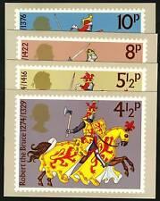 Great Britain 1974  Scott #724-727  PHQ Card Set