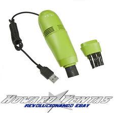 Mini Aspirador USB Cepillo Limpiador para Teclado de Pc Portatil Electrico Polvo