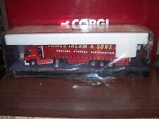 Corgi Modern Heavy 75401 DAF 85 Curtainside James Irlam 1/50 Scale
