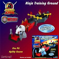 Kung Zhu Warriors Ninja Hamster Firepit Agility Training Ground Add On Playset