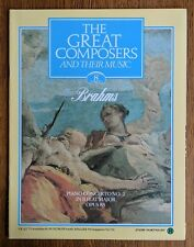 The Great Composers 1983 Mag. - Vol. 1 Part 8 Brahms - The Clarinet