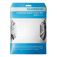 Workshop Made Shimano MTB Brake Cable Set Kit Galvanized - BLACK
