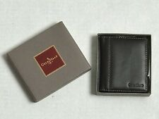 Cole Haan Wallet Leather Bifold Brown Passcase Picture Photo ID Holder w/ Box