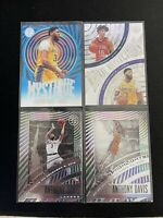 Anthony Davis 2019-20 Panini illusions Sapphire Mystique Acetate + Basketball