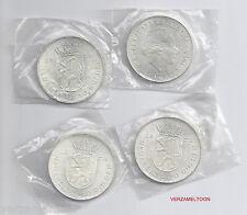 4 X ZILVEREN 10 GULDEN 1973  FDC/UNC  (IN VERPAKKING UIT 1973)