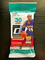 2019-20 Panini Donruss Basketball Fat pack cello Kobe Zion Ja 15+ Qty