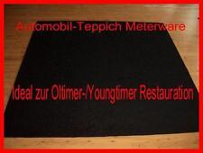 12,50 €/m² 4 m Teppich Autoteppich Meterware Matte schwarz 200x200
