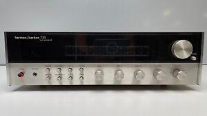 Vintage Harman Kardon HK 730 Twin Powered Receiver AM FM Tuner - Gorgeous