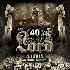 Lord: 40 Éves Jubileum DVD + 2 CD - FREE Shipping Worldwide - hard rock