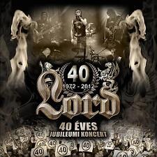 Lord: 40 Éves Jubileum DVD + 2 CD - FREE Shipping Worldwide - hard rock