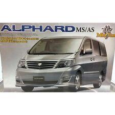 Aoshima 037898 Alphard MS/como monovolumen 1/24 escala kit plástico modelo