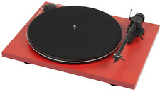 Pro-ject Essential USB Turntable - RED - BRAND NEW - Belt Drive + Ortofon