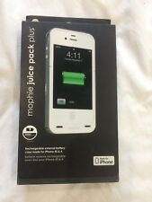 Mophie Juice Pack Plus Case For iPhone 4 And 4S  NIB