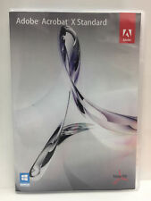 Adobe Acrobat X Standard Windows DVD-ROM Worldwide Activation on 2 PC
