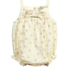 NANOS BABY YELLOW FLORAL SHORTIE 24 MONTHS